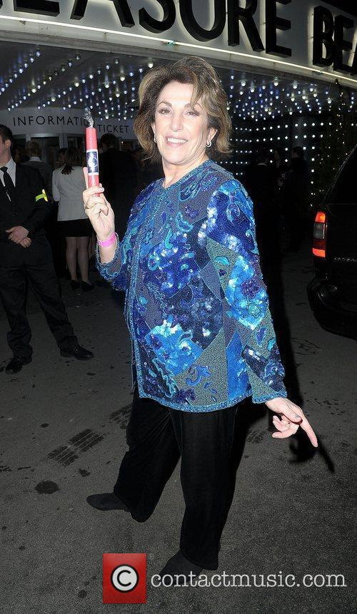 Edwina Currie,  at the Strictly Come Dancing...