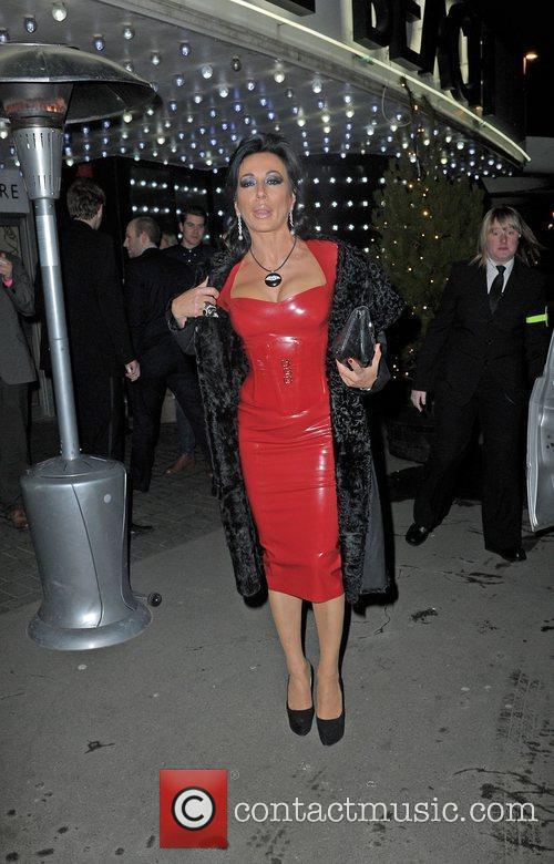 Nancy Dell'Olio ,  at the Strictly Come...
