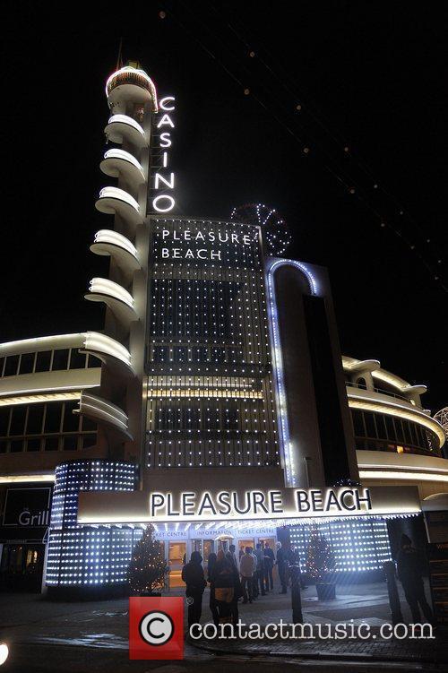 The Pleasure Beach Casino exterior,  at the...