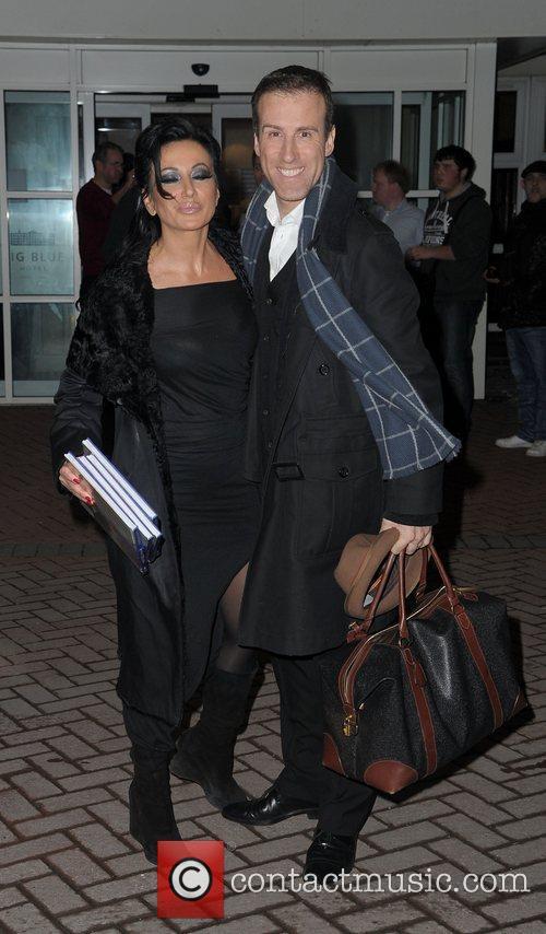Anton Du Beke and Nancy Dell'Olio,  at...