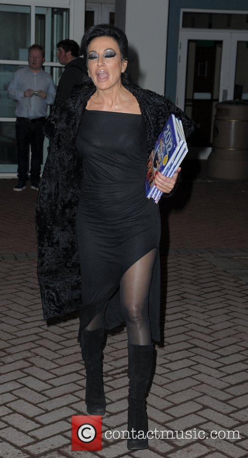 Nancy Dell'Olio,  at the Strictly Come Dancing...