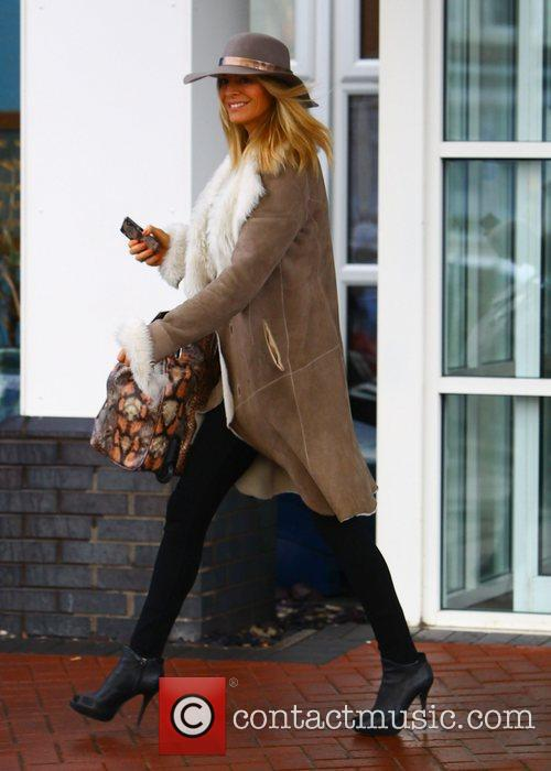 Strictly Come Dancing presenter Tess Daly leaving her...