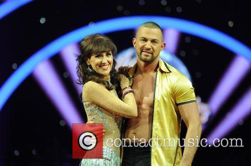 Anita Dobson, Robin Windsor 'Strictly Come Dancing' Live...