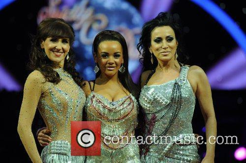 Chelsee Healey, Nancy Dell'Olio, Anita Dobson  'Strictly...
