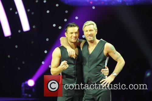 Harry Judd, Robbie Savage 'Strictly Come Dancing' Live...