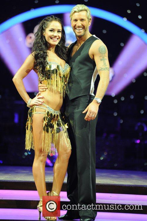 Katya Virshilas, Robbie Savage 'Strictly Come Dancing' Live...
