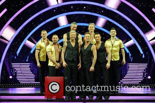 Robbie Savage, Jason Donovan, Harry Judd and Mark...