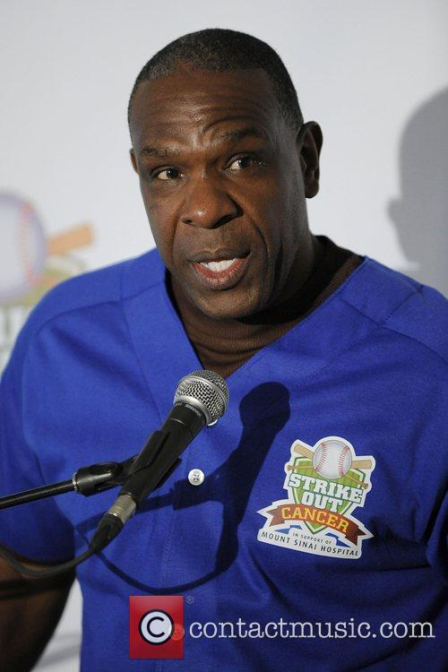 Andre Dawson  Strike Out Cancer Press Conference...