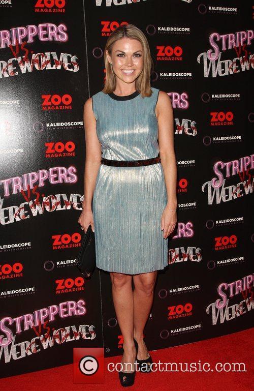 Adele Silva Strippers Vs Werewolves premiere held at...