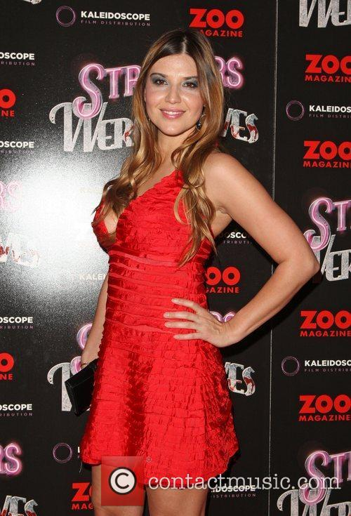 Barbara Nedeljakova 'Strippers vs Werewolves' premiere held at...
