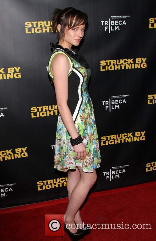 Ashley Rickards Tribeca Film presents the premiere of...