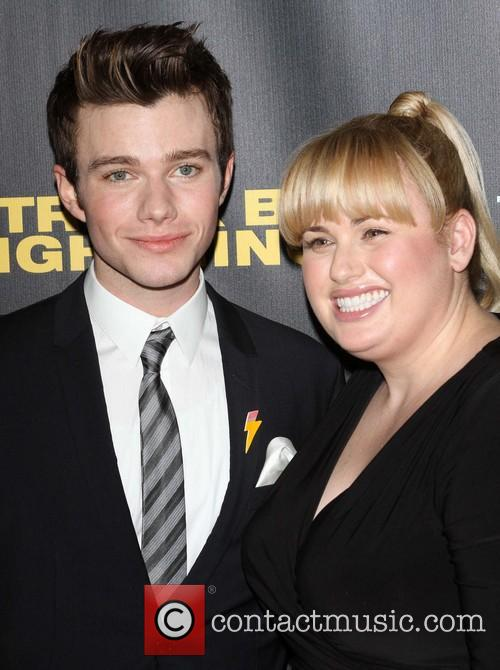 Chris Colfer and Rebel Wilson 1