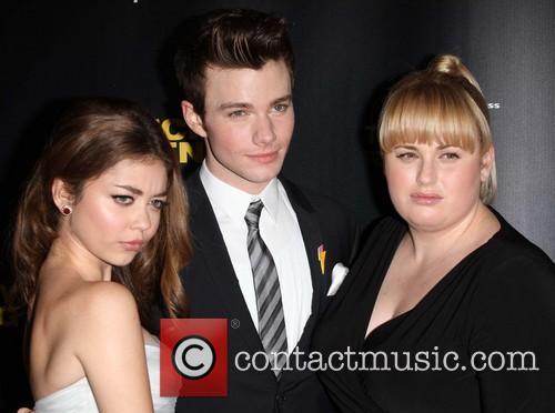Sarah Hyland, Chris Colfer and Rebel Wilson 3