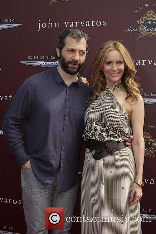 Judd Apatow and Leslie Mann 2