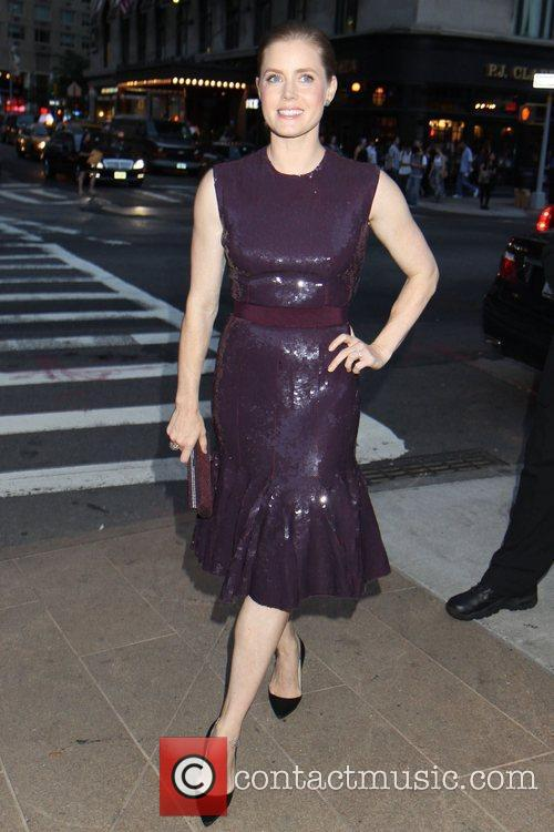 Amy Adams 2012 Style Awards held during Mercedes-Benz...