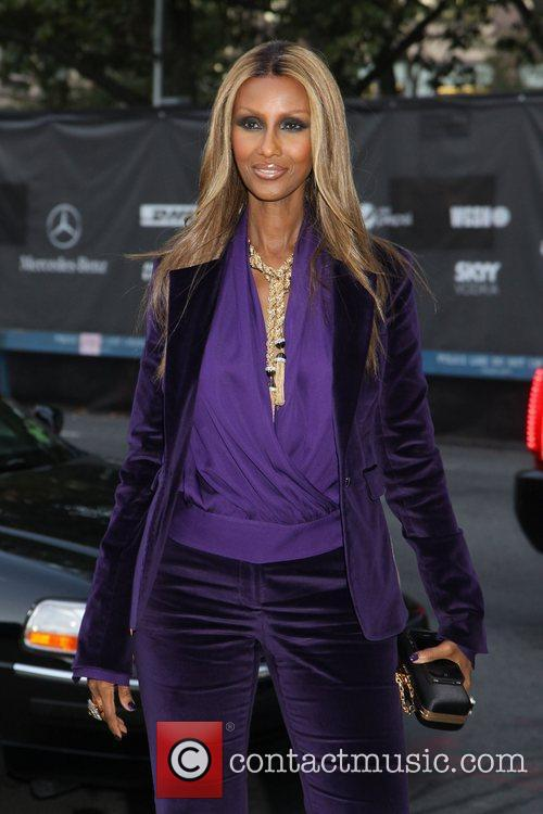 Iman 2012 Style Awards held during Mercedes-Benz Fashion...
