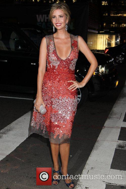 Ivanka Trump 2012 Style Awards held during Mercedes-Benz...