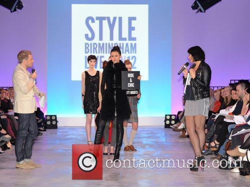 Models and Martine McCutcheon Style Birmingham Live Autumn/Winter...
