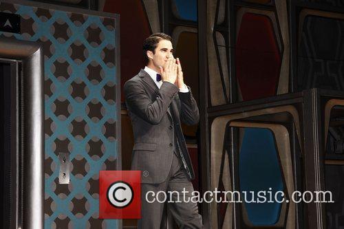 Darren Criss, Al Hirschfeld, Glee