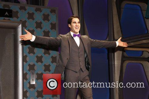 Darren Criss, Al Hirschfeld and Glee 5