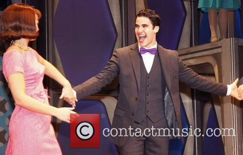 Darren Criss and Al Hirschfeld 4
