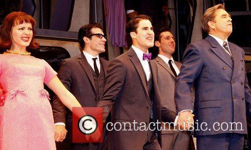 Darren Criss, Al Hirschfeld and Beau Bridges 7