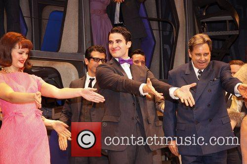 Darren Criss, Al Hirschfeld and Beau Bridges 10