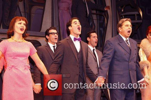 Darren Criss, Al Hirschfeld and Beau Bridges 9