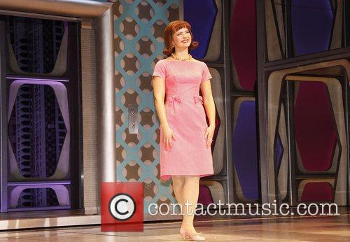 Rose Hemingway in the musical 'How To Succeed...
