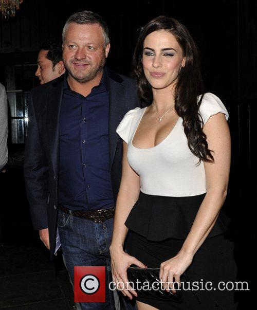 Jessica Lowndes and Mick Norcross arrives to the...
