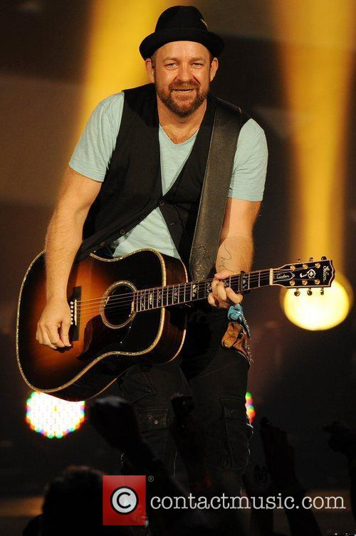 Kristian Bush of Sugarland  performing during the...