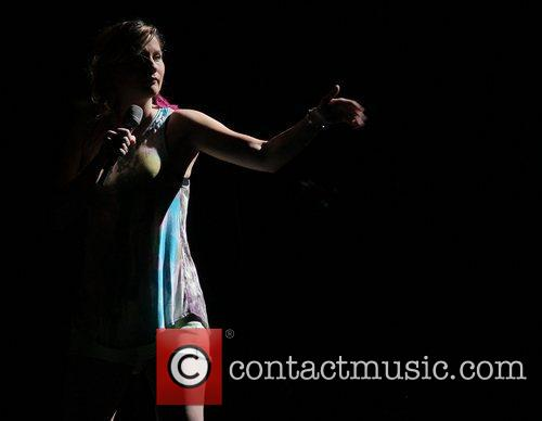 Jennifer Nettles of Sugarland performs during the 'In...