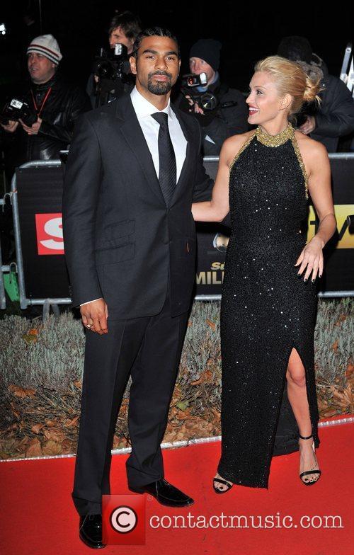 David Haye and Ashley Roberts Night of Heroes:...