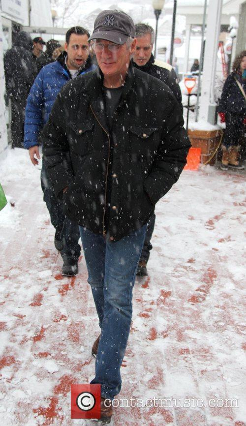 Richard Gere and Sundance Film Festival 2