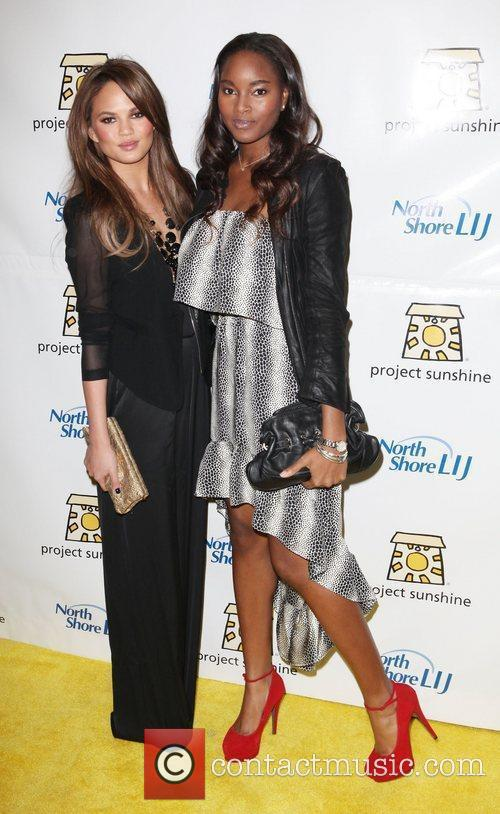 Chrissy Teigen and Damaris Lewis The 9th Annual...