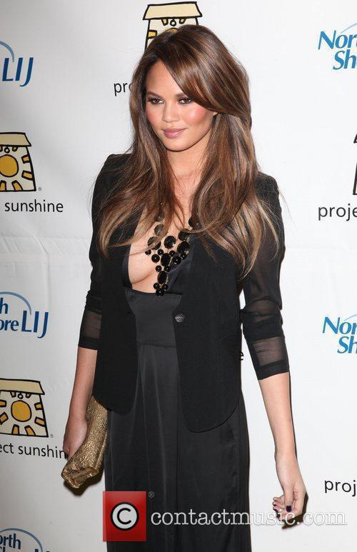 Chrissy Teigen The 9th Annual Project Sunshine 'Sunshine...