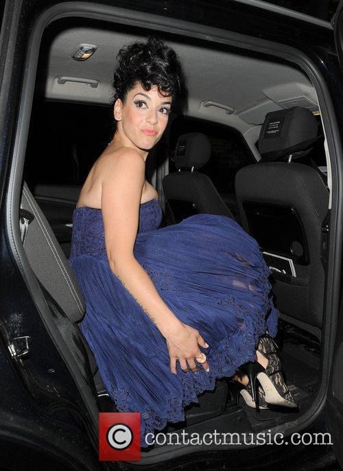 Ruth Lorenzo leaving The Supperclub.