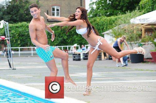 lucy mecklenburgh and joey essex surf photocall 3966565