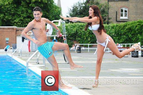 lucy mecklenburgh and joey essex surf photocall 3966566