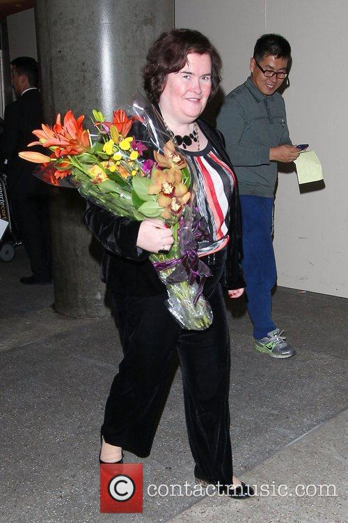Susan Boyle, Los Angeles International Airport, British Airways Flight, London and Las Vegas 13