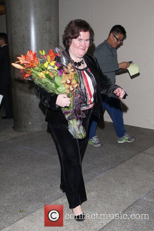 Susan Boyle, Los Angeles International Airport, British Airways Flight, London and Las Vegas 14