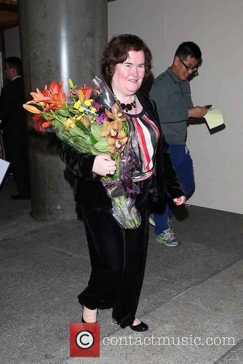 Susan Boyle, Los Angeles International Airport, British Airways Flight, London and Las Vegas 11