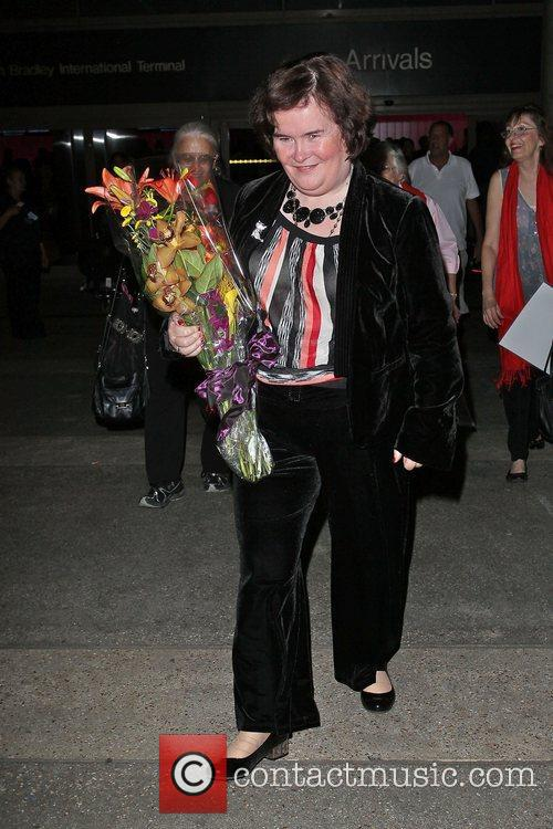 Susan Boyle, Los Angeles International Airport, British Airways Flight, London and Las Vegas 9