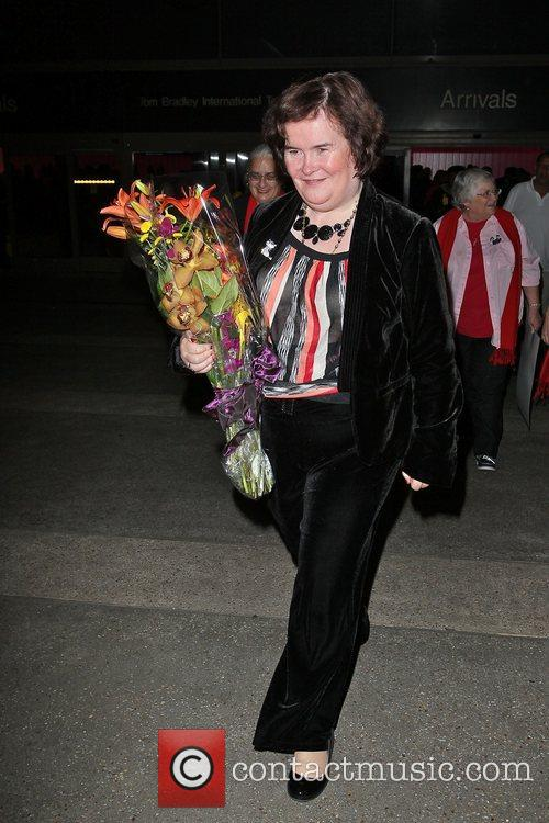 Susan Boyle, Los Angeles International Airport, British Airways Flight, London and Las Vegas 7