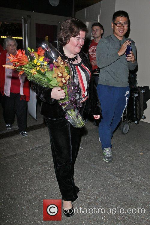 Susan Boyle, Los Angeles International Airport, British Airways Flight, London and Las Vegas 8