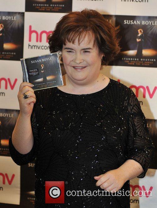 Susan Boyle, Book Signing
