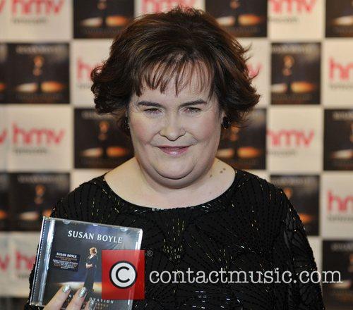 Susan Boyle HMV