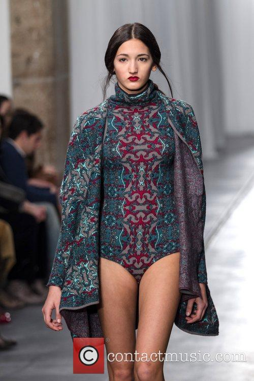 Model Portugal Fashion Week- Fall/Winter 2012- Susanna Bettencourt-...
