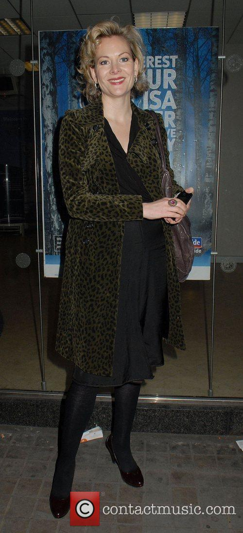 Guest,  at the 'Sweeney Todd' Press Night...