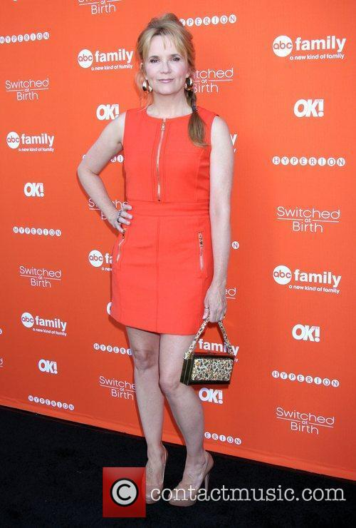 Lea Thompson  'Switched at Birth' fall premiere...